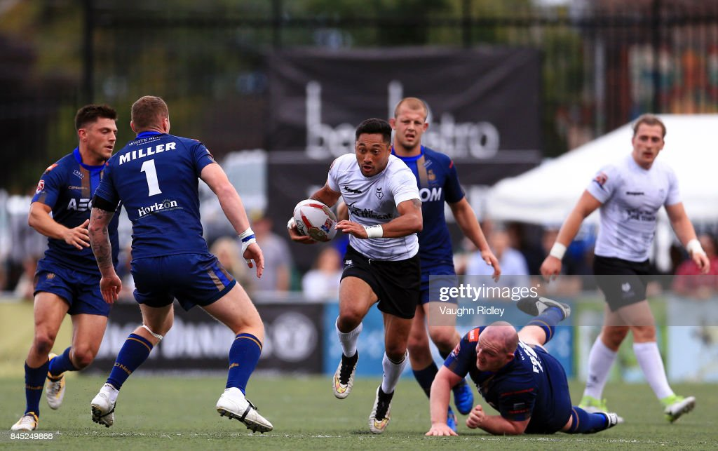 Whitehaven RLFC v Toronto Wolfpack : News Photo