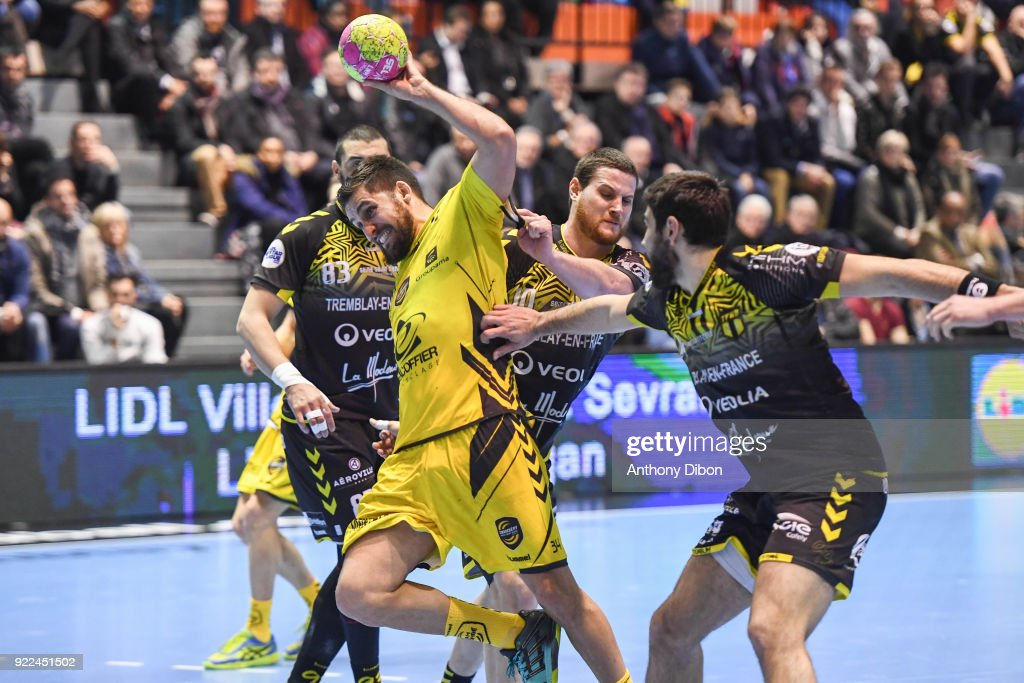 Tremblay v Chambery - Lidl Starligue : Photo d'actualité