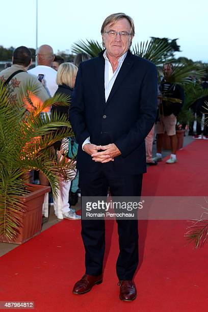 Quentin Raspail attends the red carpet closing ceremony of the 17th Festival of TV Fiction at La Rochelle on September 12 2015 in La Rochelle France