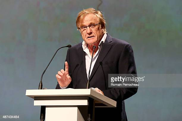 Quentin Raspail foundnig president during the Opening Ceremony of the 17th Festival of TV Fiction of La Rochelle on September 9 2015 in La Rochelle...