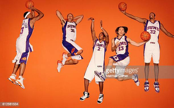 Quentin Richardson Shawn Marion Joe Johnson Steve Nash and Amare Stoudemire