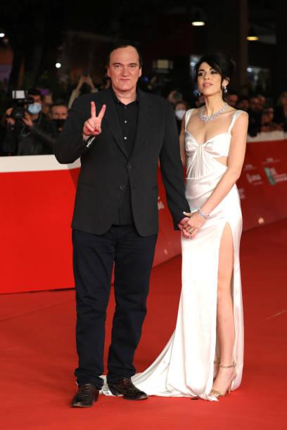 ITA: Quentin Tarantino Close Encounter Red Carpet - 16th Rome Film Fest 2021