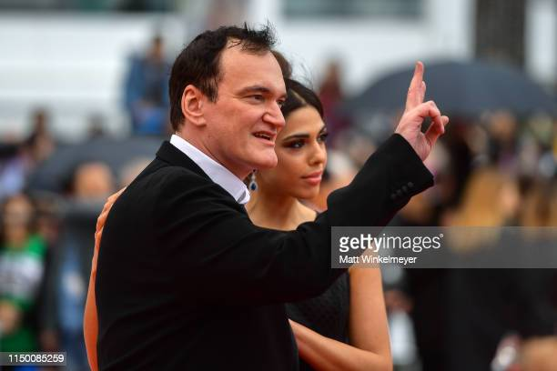 Quentin Tarantino and Daniella Tarantino attend the screening of The Wild Goose Lake during the 72nd annual Cannes Film Festival on May 18 2019 in...