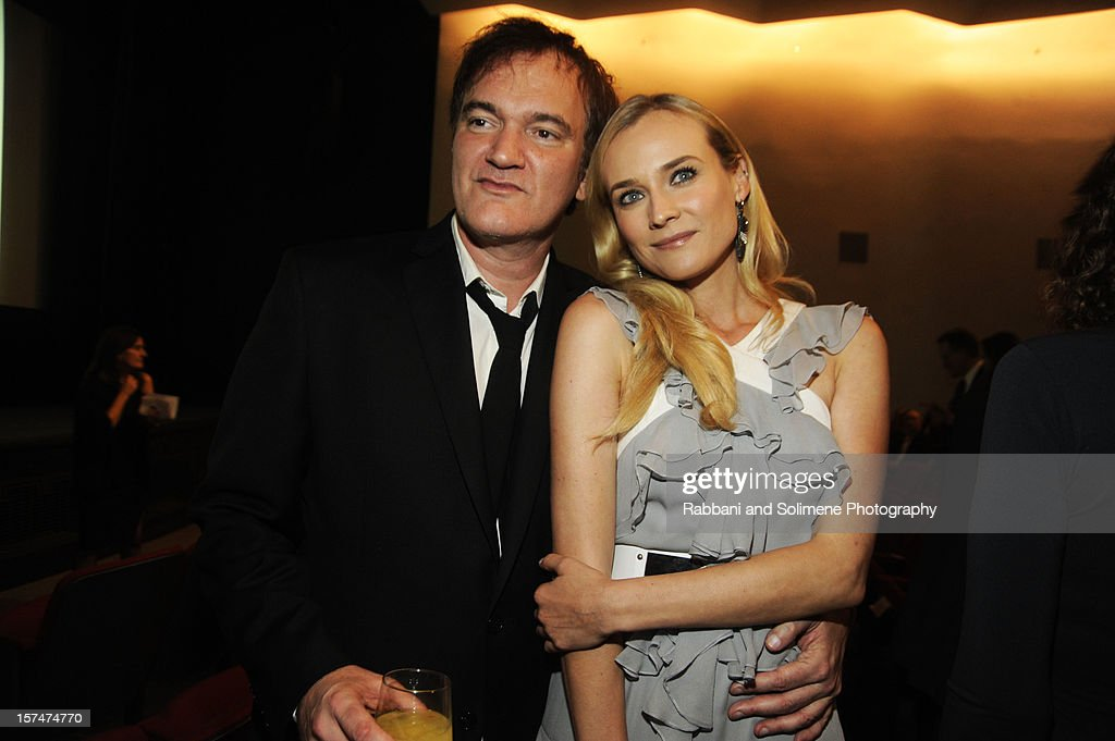Quentin Tarantino and Diane Kruger attends The Museum of Modern Art 5th annual Film Benefit honoring Quentin Tarantino at MOMA on December 3, 2012 in New York City.