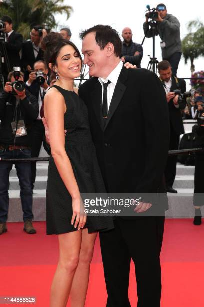 """Quentin Tarantino and his wife Daniella Tarantino attend the screening of """"The Wild Goose Lake """" during the 72nd annual Cannes Film Festival on May..."""