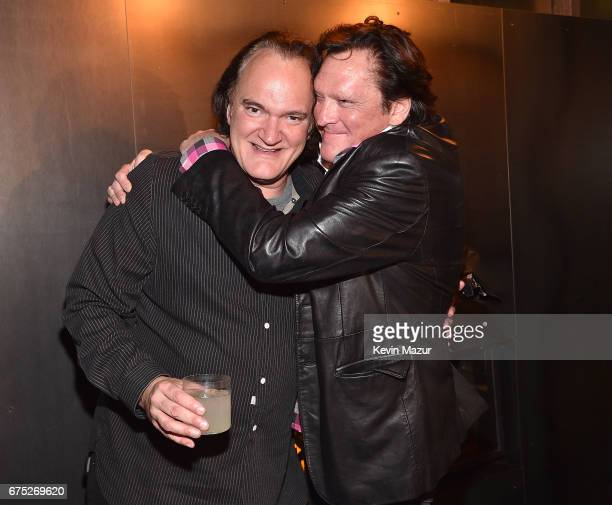 Quentin Tarantino and Michael Madsen attend 1 Hotel Brooklyn Bridge celebrates 25th Anniversary of 'Reservoir Dogs' with private party for Harvey...