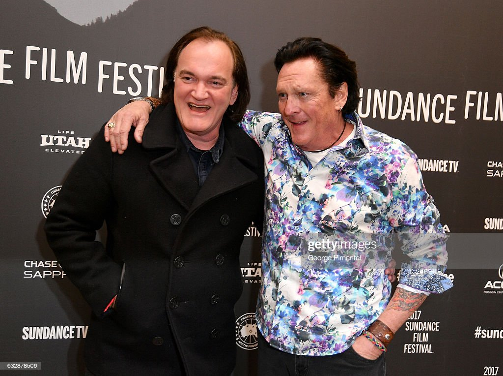 Quentin Tarantino and Michael Madsen attend 'Reservoir Dogs' 25th Anniversary Screening during the 2017 Sundance Film Festival at Eccles Center Theatre on January 27, 2017 in Park City, Utah.
