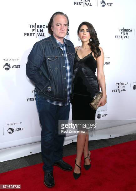 Quentin Tarantino and Singer/actress Daniella Pick attend the 2017 Tribeca Film Festival Reservoir Dogs 25th Anniversary Screening at The Beacon...