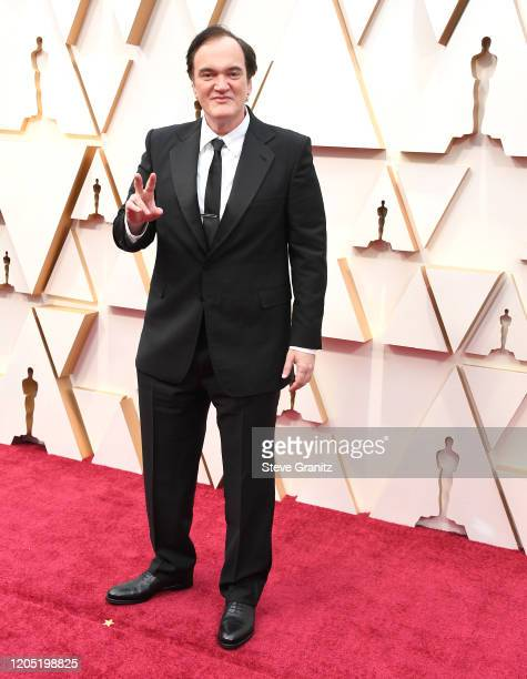 Quentin Tarantino arrives at the 92nd Annual Academy Awards at Hollywood and Highland on February 09, 2020 in Hollywood, California.
