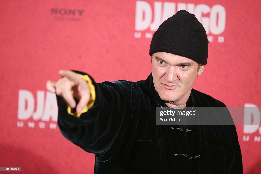 Quentin Tarantino attends 'Django Unchained' Berlin Photocall at Hotel de Rome on January 8, 2013 in Berlin, Germany.
