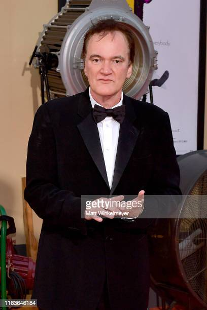 """Quentin Tarantino attends Sony Pictures' """"Once Upon A Time...In Hollywood"""" Los Angeles Premiere on July 22, 2019 in Hollywood, California."""