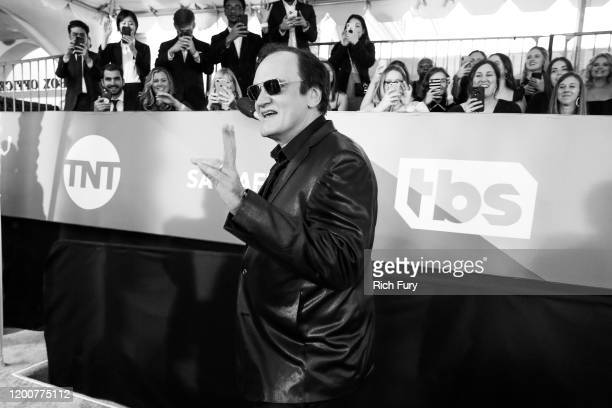 Quentin Tarantino attends the 26th Annual Screen Actors Guild Awards at The Shrine Auditorium on January 19 2020 in Los Angeles California