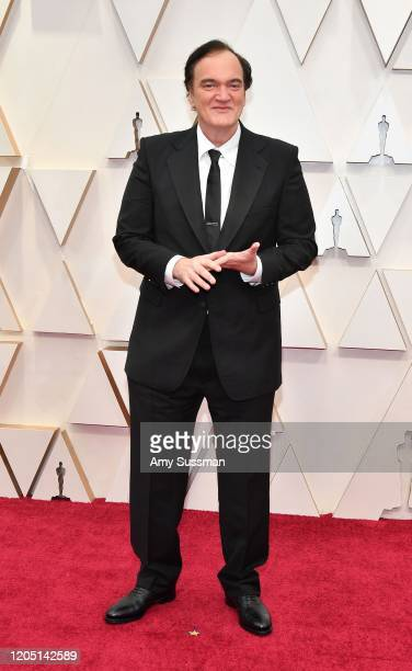 Quentin Tarantino attends the 92nd Annual Academy Awards at Hollywood and Highland on February 09 2020 in Hollywood California