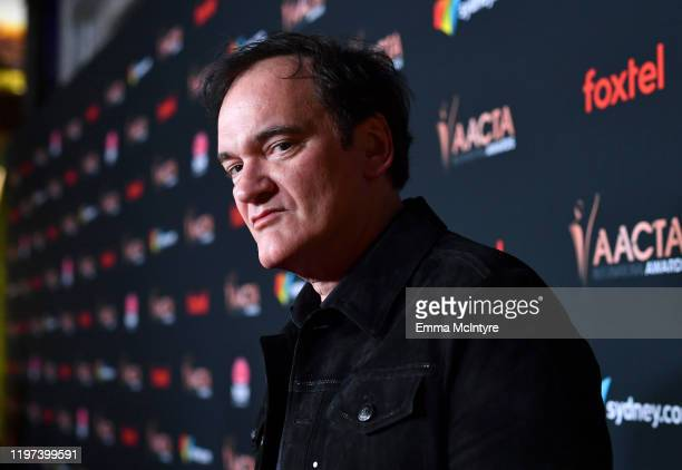 Quentin Tarantino attends the 9th Annual Australian Academy Of Cinema And Television Arts International Awards at SkyBar at the Mondrian Los Angeles...
