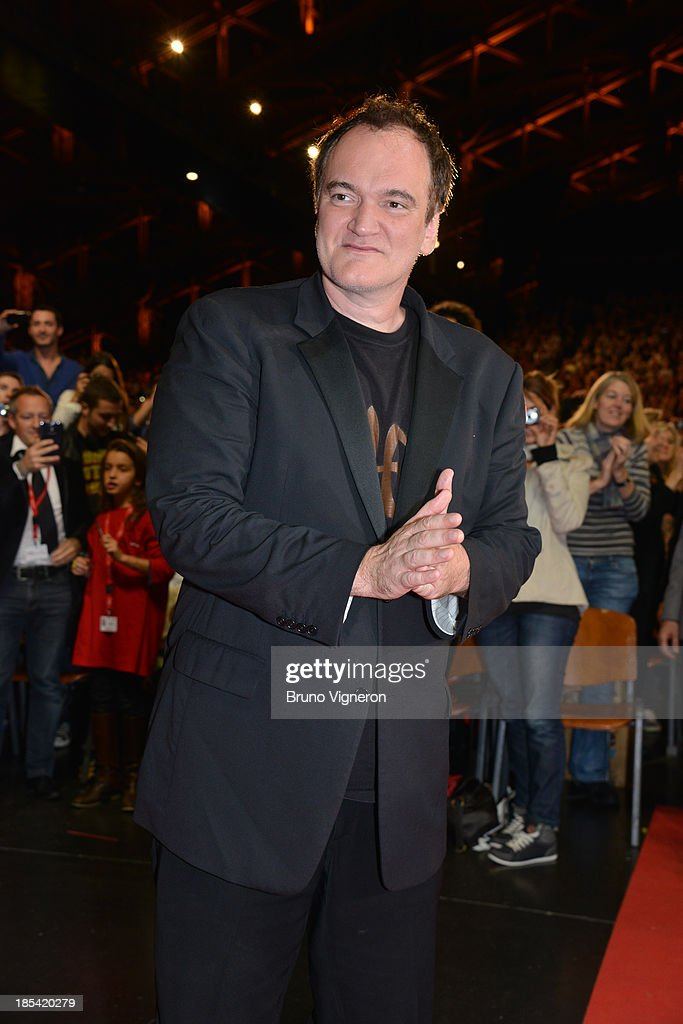 Quentin Tarantino attends the closing ceremony of 'Lumiere 2013, Grand Lyon Film Festival' on October 20, 2013 in Lyon, France.