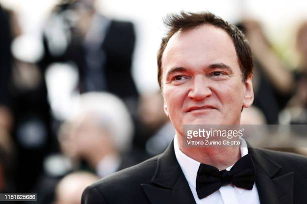 "Quentin Tarantino attends the closing ceremony screening of ""The Specials"" during the 72nd annual Cannes Film Festival on May 25, 2019 in Cannes,..."