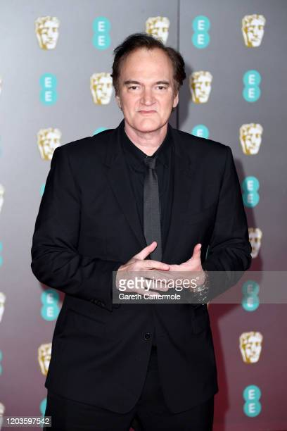 Quentin Tarantino attends the EE British Academy Film Awards 2020 at Royal Albert Hall on February 02, 2020 in London, England.