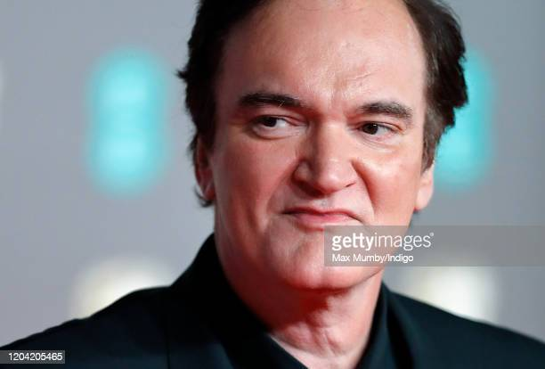 Quentin Tarantino attends the EE British Academy Film Awards 2020 at the Royal Albert Hall on February 2 2020 in London England