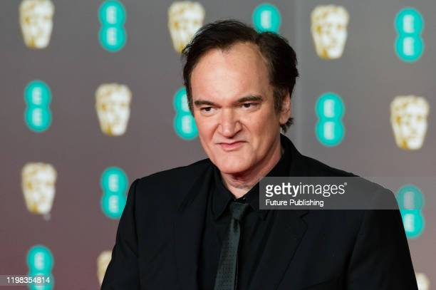 Quentin Tarantino attends the EE British Academy Film Awards ceremony at the Royal Albert Hall on 02 February, 2020 in London, England.- PHOTOGRAPH...
