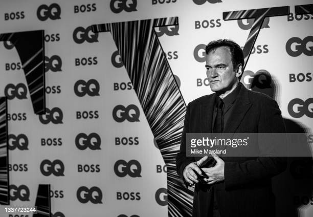 Quentin Tarantino attends the GQ Men Of The Year Awards 2021 at Tate Modern on September 01, 2021 in London, England.