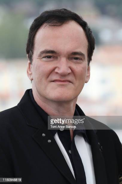 "Quentin Tarantino attends the photocall for ""Once Upon A Time In Hollywood"" during the 72nd annual Cannes Film Festival on May 22, 2019 in Cannes,..."
