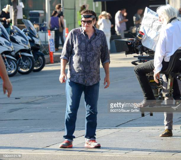 Quentin Tarantino is seen on July 23 2018 in Los Angeles California