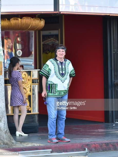Quentin Tarantino is seen on July 24 2018 in Los Angeles California