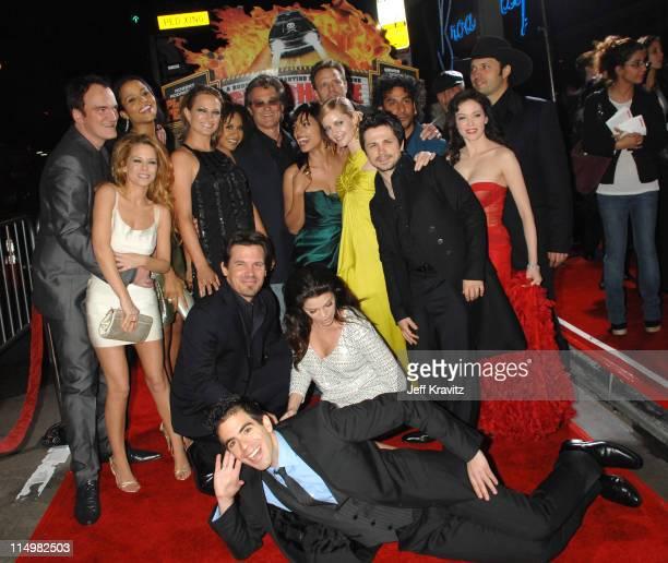 Quentin Tarantino Jordan Ladd Sydney Tamiia Poitier Zoe Bell Tacie Thoms Kurt Russell Rosario Dawson Marley Shelton Freddy Rodriguez Naveen Andrews...