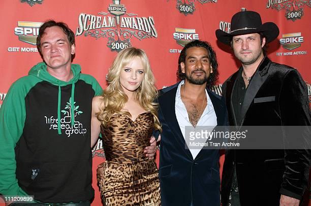 Quentin Tarantino Marley Shelton Naveen Andrews and Robert Rodriguez