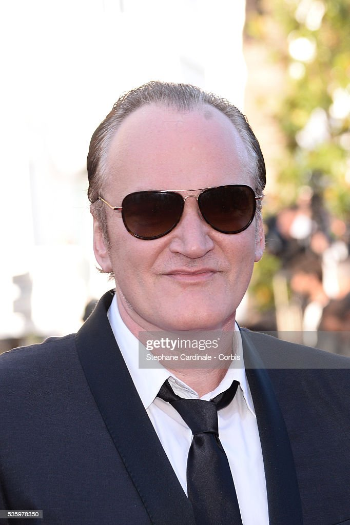 Quentin Tarentino at the Closing ceremony and 'A Fistful of Dollars' screening during 67th Cannes Film Festival