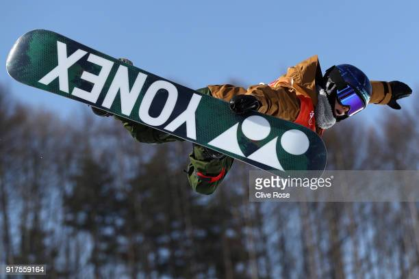 Queralt Castellet of Spain competes during the Snowboard Ladies' Halfpipe Final on day four of the PyeongChang 2018 Winter Olympic Games at Phoenix...