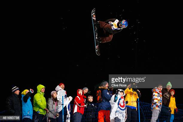 Queralt Castellet of Spain competes during the Women's Halfpipe Final of the FIS Freestyle Ski and Snowboard World Championship 2015 on January 17...
