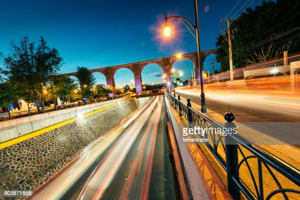 queretaro aqueduct mexico - queretaro state stock pictures, royalty-free photos & images