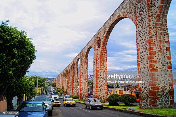 queretaro los arcos - queretaro state stock pictures, royalty-free photos & images