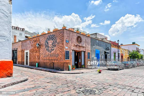 Querétaro, Mexico - El León de Santiago wine bar & delicatessen