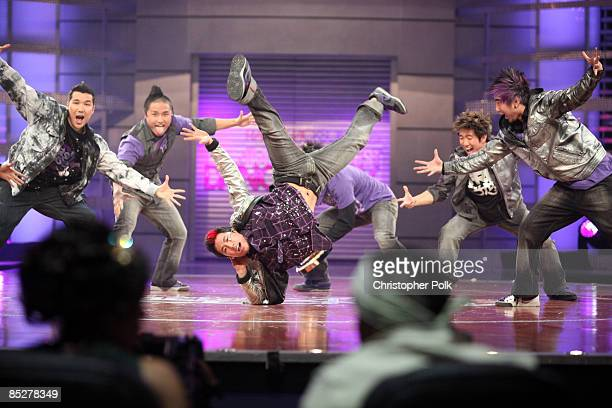 BURBANK CA MARCH 05 Quest Crew Performs During The Taping Of Randy Jackson Presents Americas