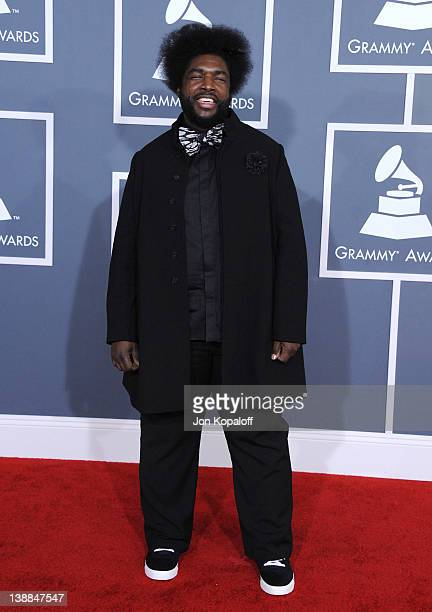 Quest Love arrives at 54th Annual GRAMMY Awards held the at Staples Center on February 12, 2012 in Los Angeles, California.