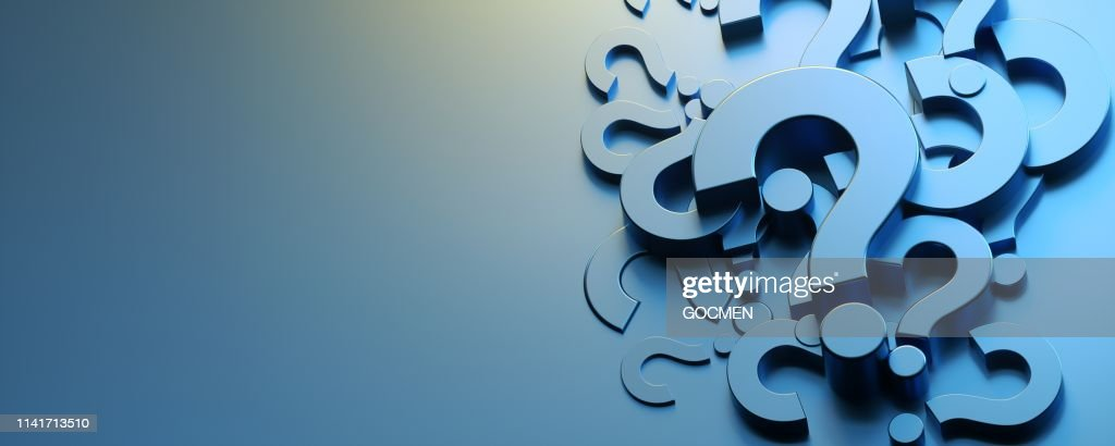 Question Mark Concept : Stock Photo