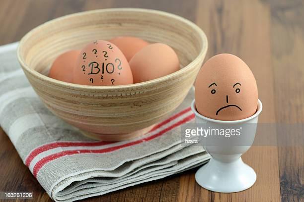 Fragezeichen für Eier aus biologischer Tierhaltung beeinträchtigten