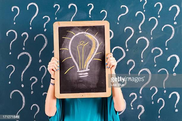 Question marque et idée
