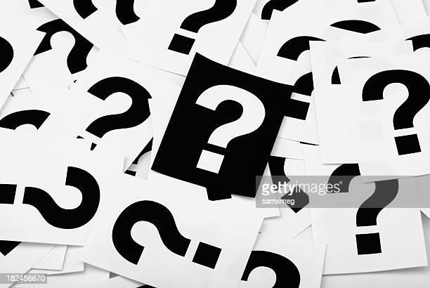 Frage marks