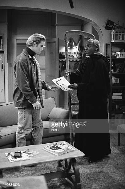 YEARS 'A Question of Ethics' Episode 14 Air Date Pictured MarkPaul Gosselaar as Zack Morris Robert Guillaume as Dr Arthur Hemmings Photo by Alice S...