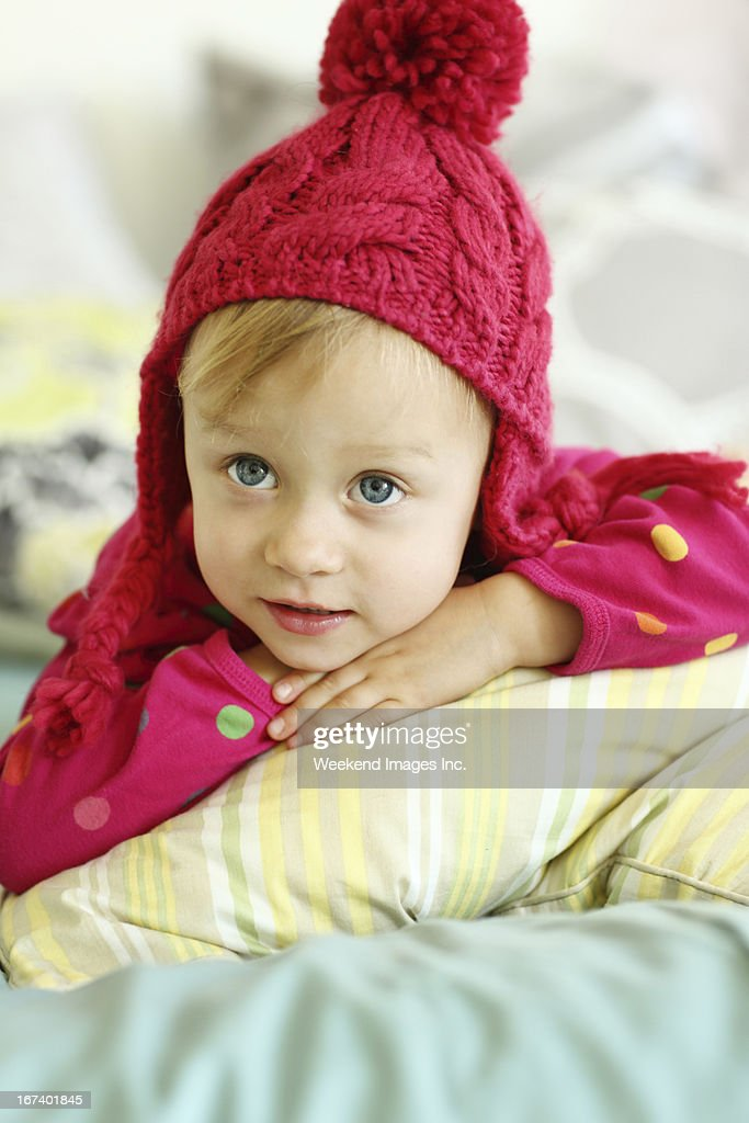 Questioning baby : Stock Photo