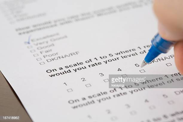 questionnaire form - comparison stock pictures, royalty-free photos & images