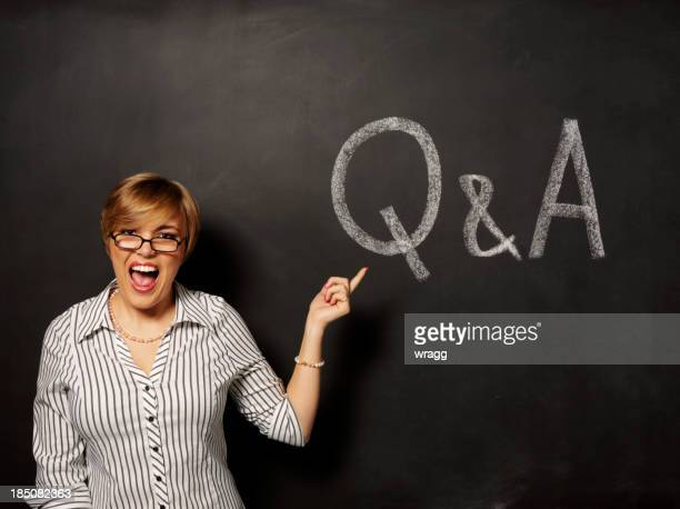 Questions and Answers on Blackboard