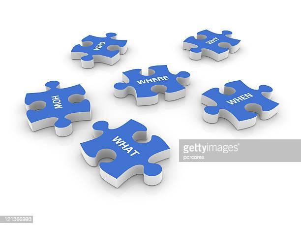 Questions sur puzzle morceaux