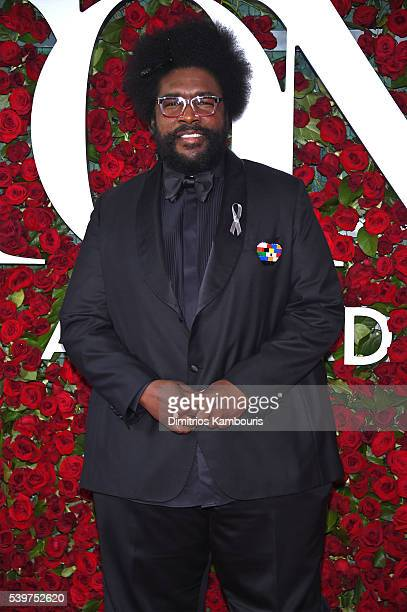 Questlove attends 70th Annual Tony Awards Arrivals at Beacon Theatre on June 12 2016 in New York City