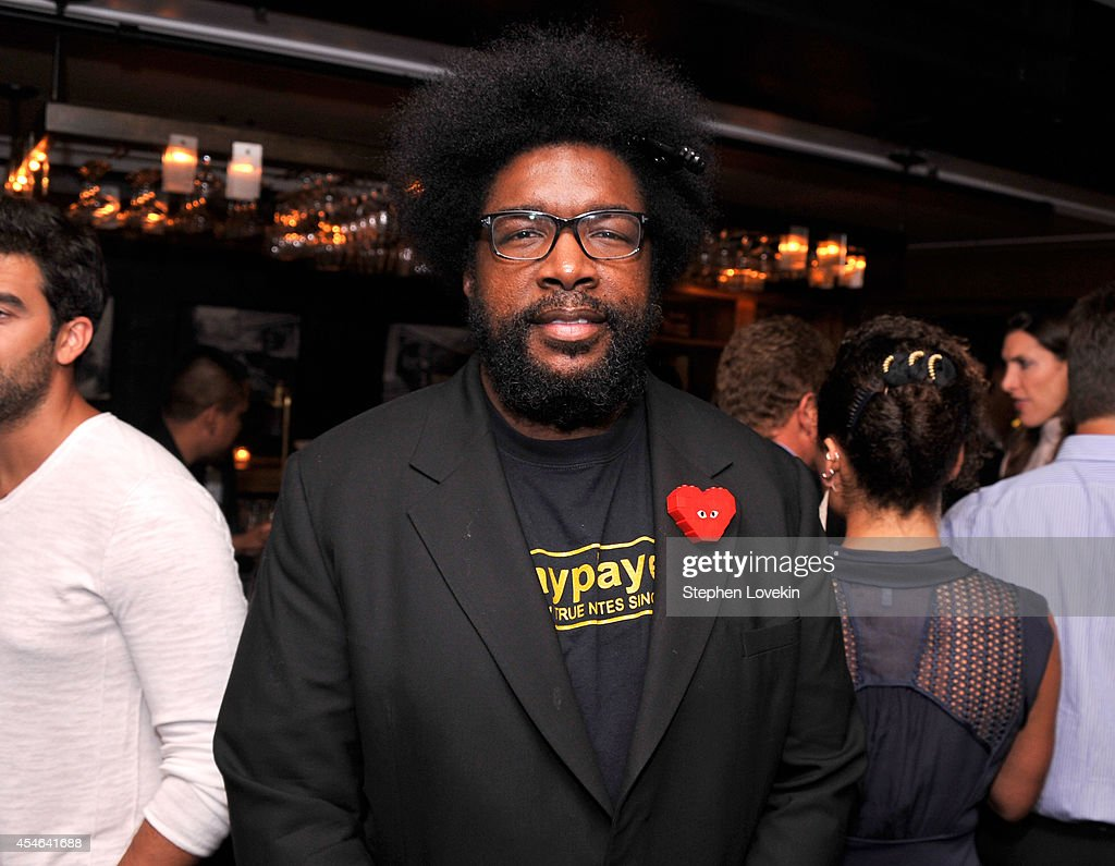 Questlove attends a Private Reception And Screening Of Homeland Season 4 on September 4, 2014 in New York City.