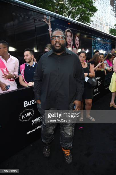 Questlove attends New York Premiere of Sony's ROUGH NIGHT presented by SVEDKA Vodka at AMC Lincoln Square Theater on June 12 2017 in New York City