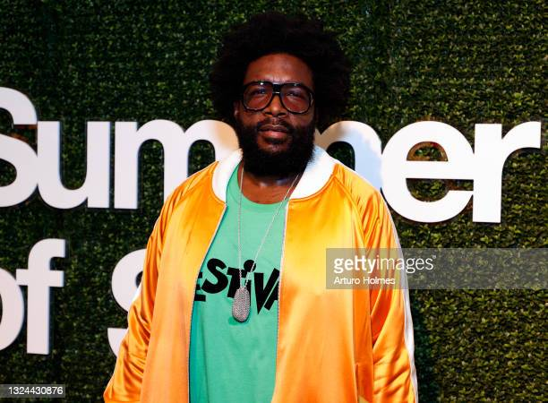"""Questlove attends Questlove's """"Summer Of Soul"""" Screening & Live Concert at Marcus Garvey Park on June 19, 2021 in New York City."""